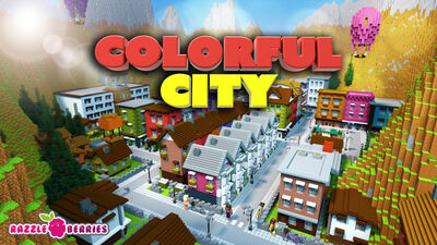 Modern Colorful City
