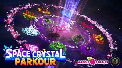 Space Crystal Parkour