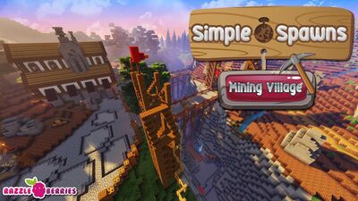 Simple Spawns Mining Village