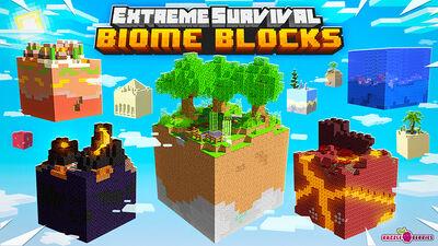 Extreme Survival Biome Blocks