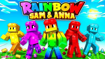 Rainbow Sam and Anna