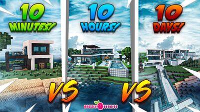 10Minutes vs 10Hours vs 10Days