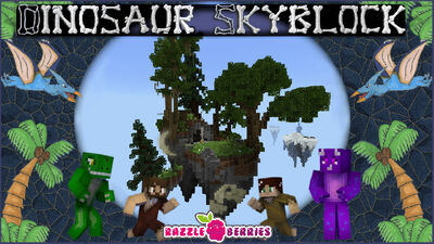 Dinosaur Skyblock