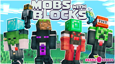 Mobs with Blocks