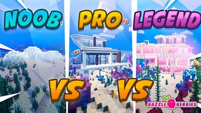 Noob vs Pro vs Legend