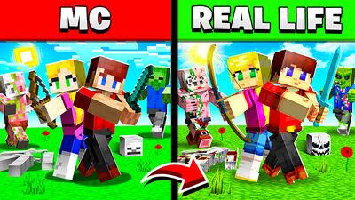 MC Vs Real Life