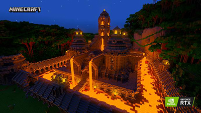 Nvidia Teams up with Minecraft creators